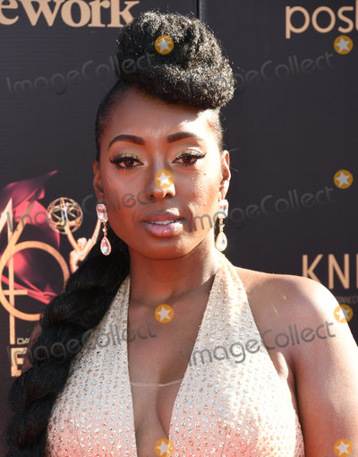 Ashly Williams Photo - 03 May 2019 - Pasadena California - Ashly Williams 46th Annual Daytime Creative Arts Emmy Awards - Arrivals held at Pasadena Civic Center Photo Credit Birdie ThompsonAdMedia