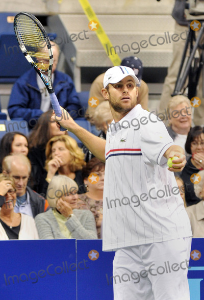 Andy Roddick Photo - 16 October 2012 - Pittsburgh PA - Tennis star ANDY RODDICK participated with TEAM ELTON at the Mylan WTT Smash Hits World Team Tennis Match held at the Petersen Events Center The 20th anniversary edition of Mylan WTTSmash Hits presented by GEICO was one for the record books with the event posting a record 1 million for the Elton John AIDS Foundation with a portion of those proceeds benefitting the Pittsburgh AIDS Task Force Theevent hosted annually by Sir Elton John and Billie Jean King has now raised more the 115 million to support HIV and AIDS prevention and awareness programs since the first Smash Hits was held in Los Angeles in 1993  Photo Credit Jason L NelsonAdMedia