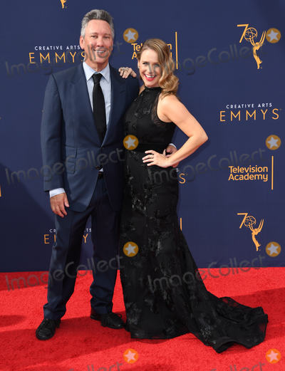 Andrea Barber Photo - 08 September 2018 - Los Angeles California - Jeff Franklin Andrea Barber 2018 Creative Arts Emmys Awards - Arrivals held at Microsoft Theater Photo Credit Birdie ThompsonAdMedia