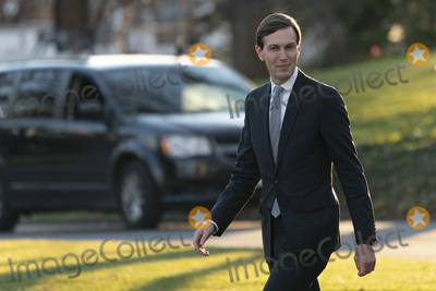 JARED KUSHNER Photo - Jared Kushner Assistant to the President and Senior Advisor walks along the South Lawn as he prepares to depart the White House in Washington DC en route to Mar-a-Lago in West Palm Beach Florida where they will spend the holidays  Prior to his departure the President vetoed HR 6395 the National Defense Authorization Act (NDAA) for Fiscal Year 2021Credit Chris Kleponis  Pool via CNPAdMedia