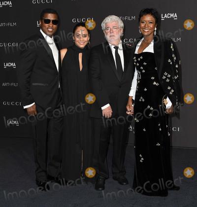 George Lucas Photo - 03 November 2018 - Los Angeles California - Babyface Kenny Edmonds George Lucas 2018 LACMA Art  Film Gala held at LACMA Photo Credit Birdie ThompsonAdMedia