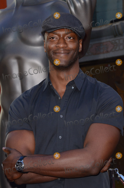 Aldis Hodges Photo - 26 January  - Hollywood Ca - Aldis Hodge SAG Awards Actor visits Hollywoods TCL Chinese Theater with SAG Awards nominees Aldis Hodge and Neil Brown Jr held at TCL Chinese Theater  Photo Credit Birdie ThompsonAdMedia