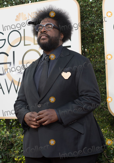 Questlove Photo - 08 January 2016 - Beverly Hills California - Questlove74th Annual Golden Globe Awards held at the Beverly Hilton Photo Credit HFPAAdMedia