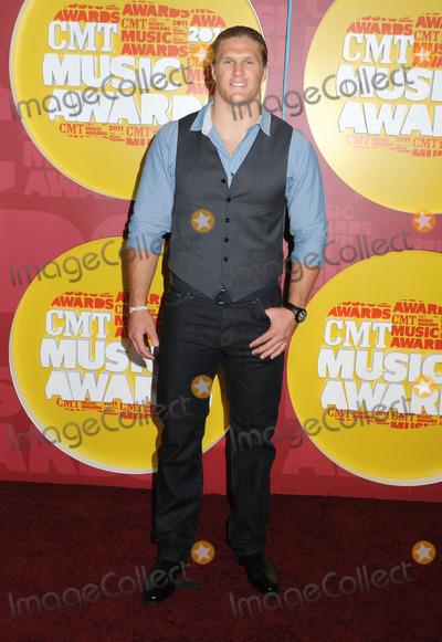 Clay Matthews Photo - 08 June 2011 - Nashville Tennessee - Clay Matthews 2011 CMT Music Awards held at Bridgestone Arena Photo Credit Laura FarrAdMedia