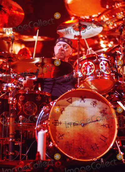 Rush Photo - 12 September 2020 - Modern Drummer hosts a tribute concert to the late great Rush drummer Neil Peart featuring live performances by some of the best drummers in the world with proceeds benefiting brain tumor resarch  File Photo Rush Concert 2013 Copps Coliseum Hamilton Ontario Canada Photo Credit Brent PerniacAdMedia