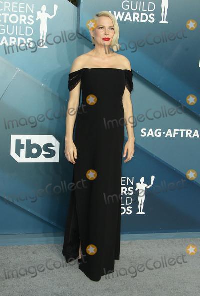 Michelle Williams Photo - 19 January 2020 - Los Angeles California - Michelle Williams 26th Annual Screen Actors Guild Awards held at The Shrine Auditorium Photo Credit AdMedia