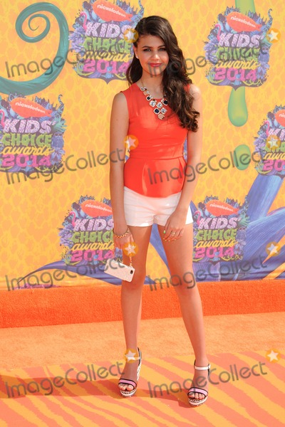 Amber Montana Photo - 29 March 2014 - Los Angeles California - Amber Montana 27th Annual Nickelodeon Kids Choice Awards held at the USC Galen Center Photo Credit Byron PurvisAdMedia