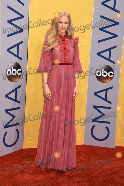 Nicole Kidman Photo - 02 November 2016 - Nashville Tennessee - Nicole Kidman 50th Annual CMA Awards Then Now Forever Country 2016 CMA Awards Country Musics Biggest Night Arrivals held at Music City Center Photo Credit Laura FarrAdMedia
