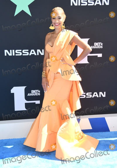 Amanda Seales Photo - 23 June 2019 - Los Angeles California - Amanda Seales 2019 BET Awards held at the Microsoft Theater Photo Credit Birdie ThompsonAdMedia