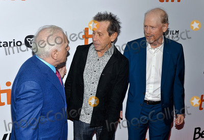 Ron Howard Photo - 05 September 2019 - Toronto Ontario Canada - Martin Scorsese Brian Grazer Ron Howard 2019 Toronto International Film Festival - Once Were Brothers Robbie Robertson And The Band Premiere held at Roy Thomson Hall Photo Credit Brent PerniacAdMedia