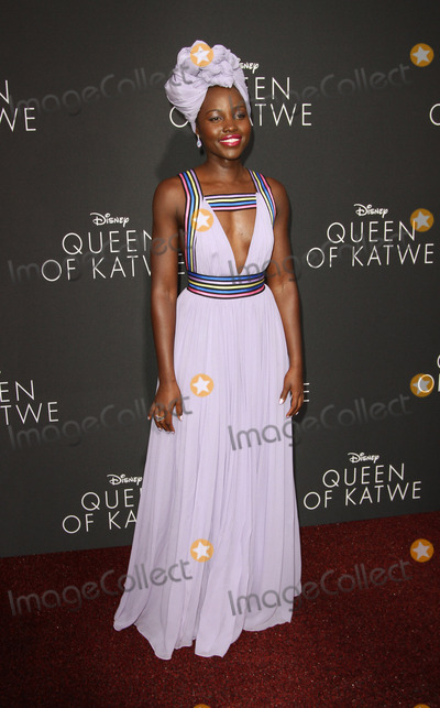 Lupita Nyongo Photo - 20 September 2016 - Hollywood California - Lupita Nyongo Queen Of Katwe Los Angeles Premiere held at the El Capitan Theater in Hollywood Photo Credit AdMedia