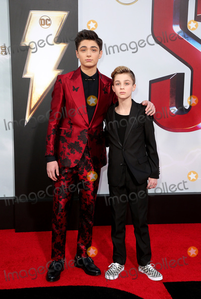 Avi Angel Photo - 28 March 2019 - Hollywood California - Asher Angel Avi Angel Warner Bros Pictures and New Line Cinema World Premiere of SHAZAM held at TCL Chinese Theatre Photo Credit Faye SadouAdMedia
