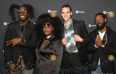 Tank Photo - 23 January 2020 - Los Angeles California - Tank and the Bangas The Spotify Best New Artist 2020 Party held at The Lot Studios Photo Credit FSAdMedia