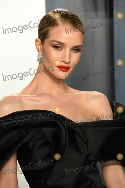 Rosie Huntington Photo - 09 February 2020 - Los Angeles California - Rosie Huntington-Whiteley 2020 Vanity Fair Oscar Party following the 92nd Academy Awards held at the Wallis Annenberg Center for the Performing Arts Photo Credit Birdie ThompsonAdMedia