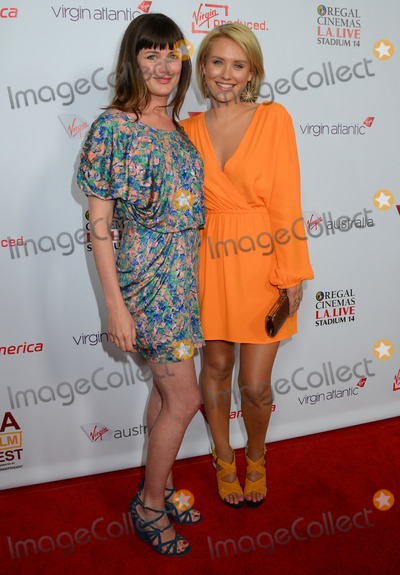 Kat Coiro Photo - 11 June 2012 - Los Angeles California - Kat Coiro Nicky Whelan Departure Date Premiere during the 2012 Los Angeles Film Festival is a short film from Virgin America Virgin Atlantic Virgin Australia and a Virgin Produced film at 35000 feet held at Regal Cinemas LA LIVE Photo Credit Birdie ThompsonAdMedia