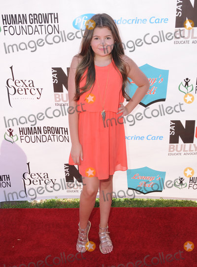 Addison Riecke Photo - 13 August 2016 - Los Angeles California Addison Riecke 2016 Say NO Bullying Festival held at Griffith Park Photo Credit Birdie ThompsonAdMedia