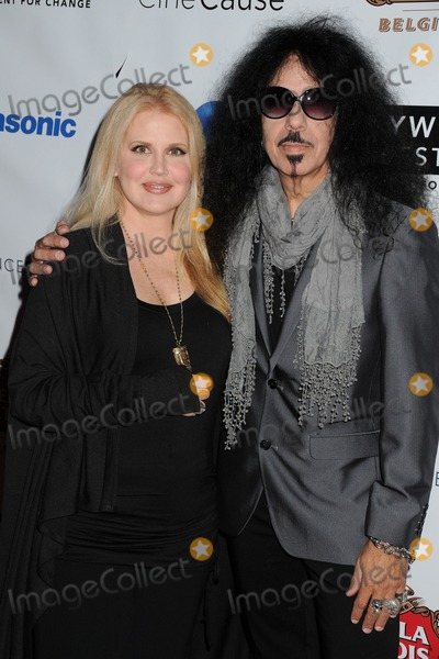 Quiet Riot Photo - 16 October 2014 - Hollywood California - Regina Russell Frankie Banali Quiet Riot Hollywood Film Festival 2014 held at Arclight Cinemas Photo Credit Byron PurvisAdMedia