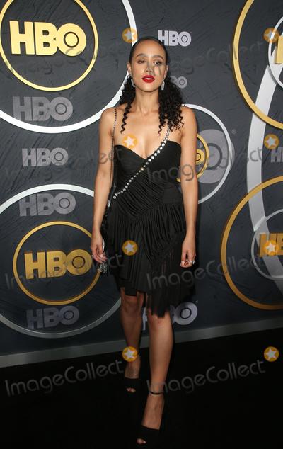 Nathalie  Photo - 22 September 2019 - West Hollywood California - Nathalie Emmanuel the 2019 HBO Post Emmy Award Reception held at Pacific Design Center Photo Credit FSadouAdMedia