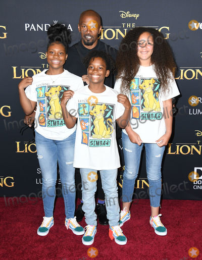Jamie Foxx Photo - 09 July 2019 - Hollywood California - Jamie Foxx Disneys The Lion King Los Angeles Premiere held at Dolby Theatre Photo Credit Birdie ThompsonAdMedia