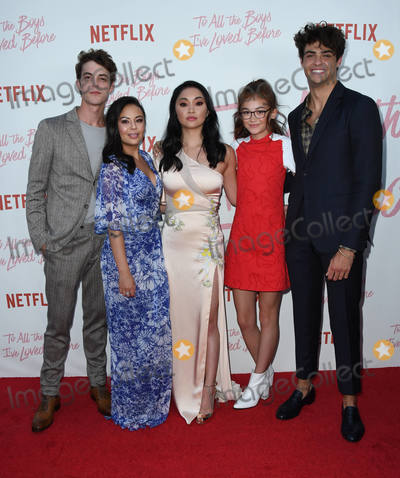 Anna Cathcart Photo - 16 August 2018 - Culver City California - Israel Broussard Janel Parrish Lana Condor Anna Cathcart Noah Centineo Netflixs to All the Boys Ive Loved Before Los Angeles Screening held at Arclight Culver City Photo Credit Birdie ThompsonAdMedia