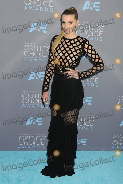 Abbey Lee Photo - 17 January 2016 - Santa Monica California - Abbey Lee Kershaw 21st Annual Critics Choice Awards - Arrivals held at Barker Hangar Photo Credit Byron PurvisAdMedia