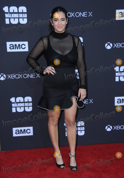 Alanna Masterson Photo - 22 October  2017 - Los Angeles California - Alanna Masterson AMC Celebrates the 100th Episode of The Walking Dead held at The Greek Theater in Los Angeles Photo Credit Birdie ThompsonAdMedia