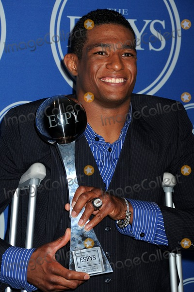 Anthony Robles Photo - 13 July 2011 - Los Angeles California - Anthony Robles 2011 ESPY Awards - Press Room held at Nokia Theatre LA Live Photo Credit Byron PurvisAdMedia