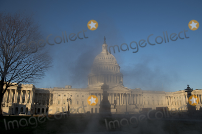 Vandals Photo - The US Capitol seen in the aftermath the morning after a riot by pro-Trump supporters who stormed and vandalized the US Capitol as Electoral votes were being counted during a joint session of the United States Congress to certify the results of the 2020 presidential election Washington DC Thursday January 7 2021 Credit Rod Lamkey  CNPAdMedia