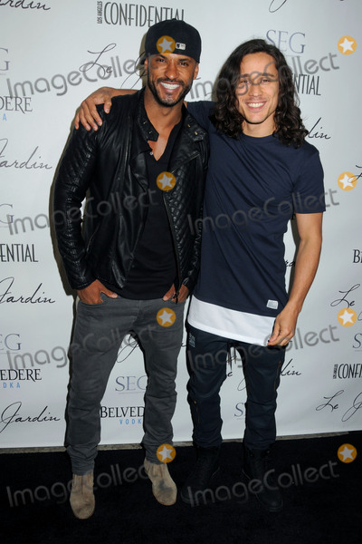 Peter Gadiot Photo - 4 June 2015 - Hollywood California - Ricky Whittle Peter Gadiot Le Jardin Grand Opening held at Le Jardin Photo Credit Byron PurvisAdMedia