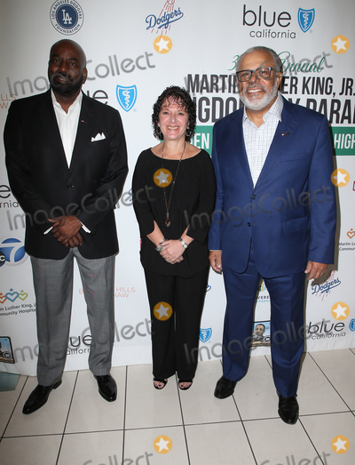 Martin Luther King Photo - 15 January 2018 - Los Angeles California - Darrell Brown Michelle Mayer Lenny Mcneill Martin Luther King Jr Kingdom Day Parade  VIP Breakfast Photo Credit F SadouAdMedia