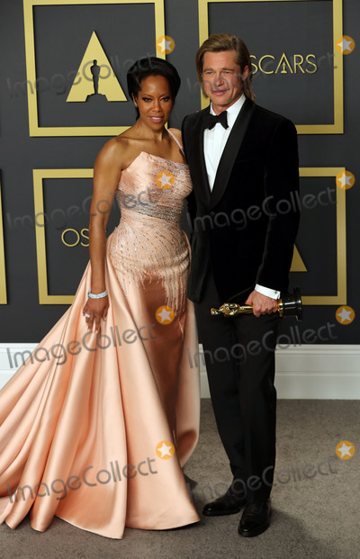 Regina King Photo - 09 February 2020 - Hollywood California - Regina King and Brad Pitt attend the 92nd Annual Academy Awards presented by the Academy of Motion Picture Arts and Sciences held at Hollywood  Highland Center Photo Credit Theresa ShirriffAdMedia