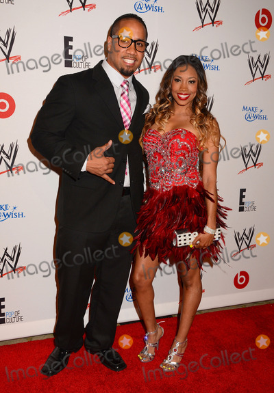 Jey Uso Photo - 15 August 2013 - Beverly Hills Ca - Jey Uso Cameron WWE  E Entertainments SuperStars For Hope supporting Make-A-Wish at The Beverly Hills Hotel in Beverly Hills Ca Photo Credit BirdieThompsonAdMedia