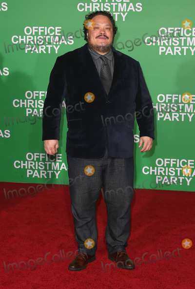 Adrian Martinez Photo - 07 December 2016 - Westwood California - Adrian Martinez  Office Christmas Party Paramount Pictures Los Angeles Premiere held at Regency Village Theatre Photo Credit F SadouAdMedia