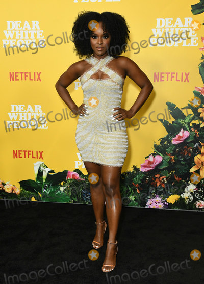 Antoinette Robertson Photo - 01 August 2019 - Los Angeles California - Antoinette Robertson Netflixs Dear White People Season 3 Los Angeles Premiere held at TRegal Cinemas LA Live Photo Credit Birdie ThompsonAdMedia