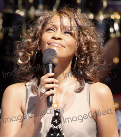 Alex Cole Photo - 11 February 2012 - Beverly Hills CA -  Singer Whitney Houston has died at the age of 48 Whitney Houston was pronounced dead at 355 pm at the Beverly Hilton Hotel just hours before she was scheduled to appear at the annual Clive Davis Pre-GRAMMY Gala held each year at the Beverly Hilton The six-time Grammy winner has record sales in the United States totaling over 55 million File Photo 01 September 2009 - New York NY - Whitney Houston Whitney Houston Performs On ABCs Good Morning America held at Rumsey Playfield Central Park Photo Credit Alex ColeAdMedia