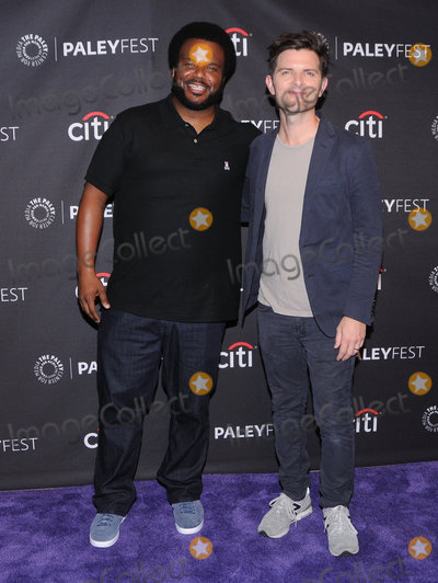 Adam Scott Photo - 13 September  2017 - Beverly Hills California - Adam Scott Craig Robinson 2017 PaleyFest Fall TV Preview of Ghosted held at The Paley Center for Media in Beverly Hills Photo Credit Birdie ThompsonAdMedia