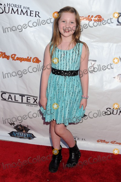 Ella Anderson Photo - 22 July 2014 - Los Angeles California - Ella Anderson A Horse For Summer Los Angeles Premiere held at the Laemmle Music Hall Photo Credit Byron PurvisAdMedia