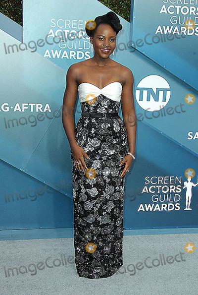Lupita Nyongo Photo - 19 January 2020 - Los Angeles California - Lupita Nyongo 26th Annual Screen Actors Guild Awards held at The Shrine Auditorium Photo Credit AdMedia