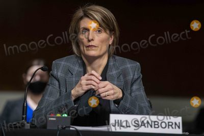 The Used Photo - Assistant Director of FBI Counterterrorism Division Jill Sanborn testifies before the Senate Homeland Security and Governmental AffairsRules and Administration hearing to examine the January 6 2021 attack on the US Capitol on Capitol Hill  in Washington DC USA 03 March 2021Credit Shawn Thew  Pool via CNPAdMedia