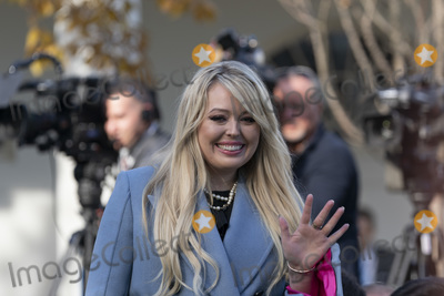 The National Photo - Tiffany Trump the daughter of United States President Donald J Trump attends the National Thanksgiving Turkey presentation in the Rose Garden of the White House in Washington DC on Tuesday November 26 2019Credit Chris Kleponis  Pool via CNPAdMedia