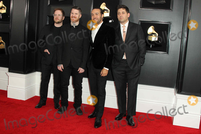 Patrick Stump Photo - 10 February 2019 - Los Angeles California - Patrick Stump Andy Hurley Pete Wentz Joe Trohman Fall Out Boy 61st Annual GRAMMY Awards held at Staples Center Photo Credit AdMedia