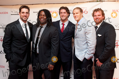 Clay Matthews Photo - 03 May 2013 - Louisville Kentucky -  Aaron Rodgers Josh Boyd Clay Matthews Eric Wood MAXIM Fillies  Stallions Derby Eve Party 2013 hosted by Makers 46 and Blackrock Thoroughbreds held at Mellwood Art and Entertainment Center Photo Credit Ryan PavlovAdMedia