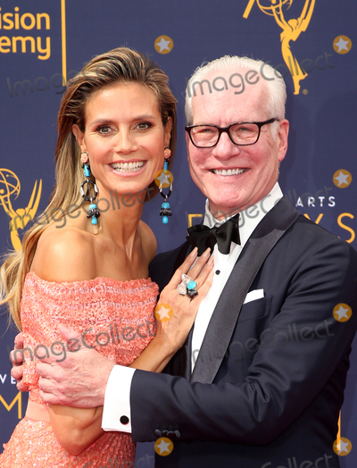 Tim Gunn Photo - 09 September 2018-  Los Angeles California - Heidi Klum Tim Gunn 2018 Creative Arts Emmy Awards held at The Microsoft Theater Photo Credit Faye SadouAdMedia