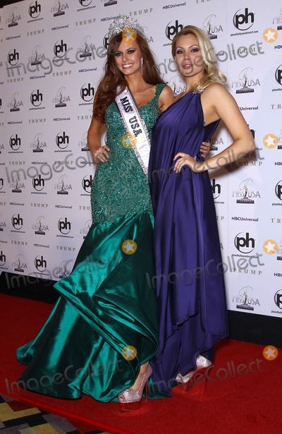 Alyssa Campanella Photo - 19 June 2011 - Las Vegas Nevada - Miss USA 2011 Alyssa Campanella Miss USA 1995 Shanna Moakler  Newly Crowned Miss USA 2011 Alyssa Campanella (Miss California USA) holds post pageant press conference at the Planet Hollywood Hotel and Casino  Photo Credit MJTAdMedia