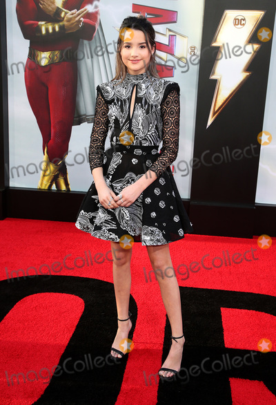 Annie LeBlanc Photo - 28 March 2019 - Hollywood California - Annie LeBlanc Warner Bros Pictures and New Line Cinema World Premiere of SHAZAM held at TCL Chinese Theatre Photo Credit Faye SadouAdMedia