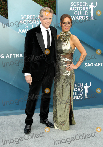 Lisa Maris Photo - 19 January 2020 - Los Angeles California - Cary Elwes Lisa Marie Kubikoff 26th Annual Screen Actors Guild Awards held at The Shrine Auditorium Photo Credit AdMedia