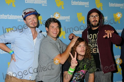 Anders Holm Photo - 14 July 2012 - San Diego California - Anders Holm Adam DeVine Blake Anderson Kyle Newacheck Entertainment Weeklys Comic-Con 2012 Celebration held at the Hard Rock Hotel Float Lounge Photo Credit Byron PurvisAdMedia