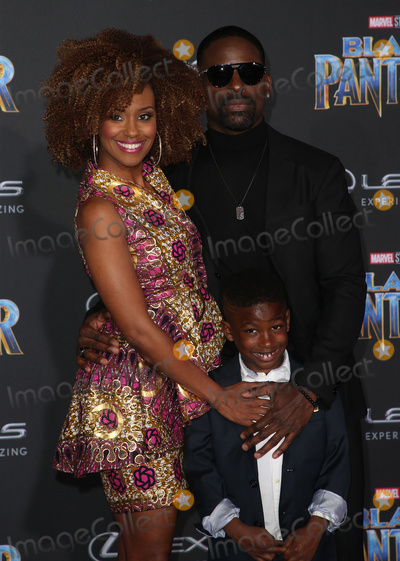 Andrew Brown Photo - 29 January 2018 - Hollywood California - Ryan Michelle Bathe Sterling K Brown Andrew Brown Marvel Studios Black Panther World Premiere held at Dolby Theater Photo Credit F SadouAdMedia