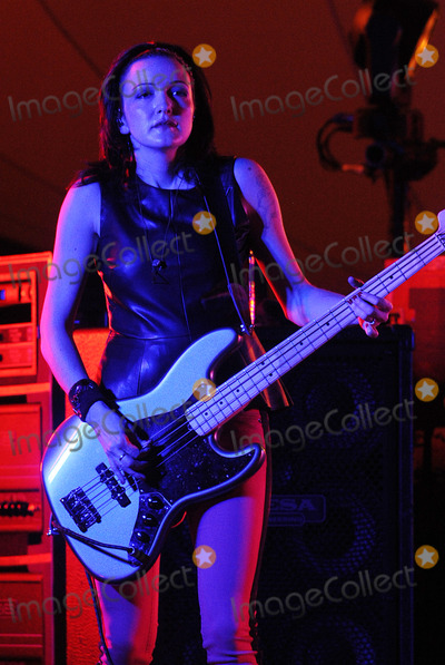 Nicole Florentino Photo - 06 December 2012 - Pittsburgh PA - Bassist NICOLE FLORENTINO of the alternative rock band SMASHING PUMPKINS performs at a stop on their Oceania Tour 2012  held at Stage AE  Photo Credit Jason L NelsonAdMedia