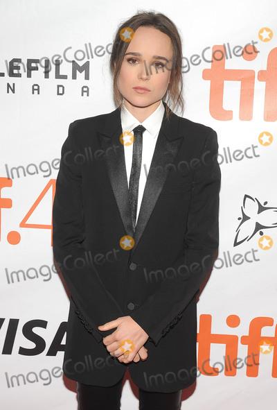 Ellen Page Photo - 13 September 2015 - Toronto Ontario Canada - Ellen Page Freeheld Premiere during the 2015 Toronto International Film Festival held at Roy Thomson Hall Photo Credit Brent PerniacAdMedia